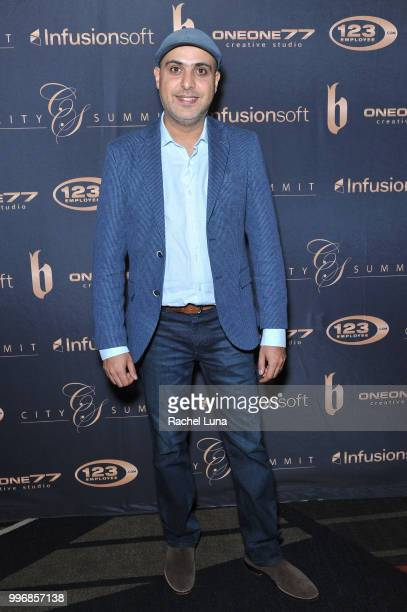 Alex Moj of Plug and Play Ventures attends City Summit Wealth Mastery And Mindset Edition afterparty at Allure Banquet Catering on July 11 2018 in...