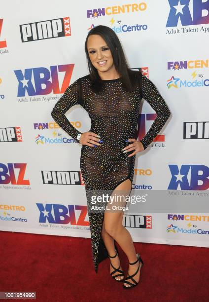 Alex Moore arrives for XBIZ Rise Adult Talent Appreciation Gala held at Exchange LA on November 14 2018 in Los Angeles California