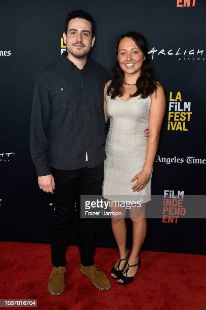 Alex Moratto Genevieve Iben attend the 2018 LA Film Festival Opening Night Premiere Of 'Echo In The Canyon' at John Anson Ford Amphitheatre on...
