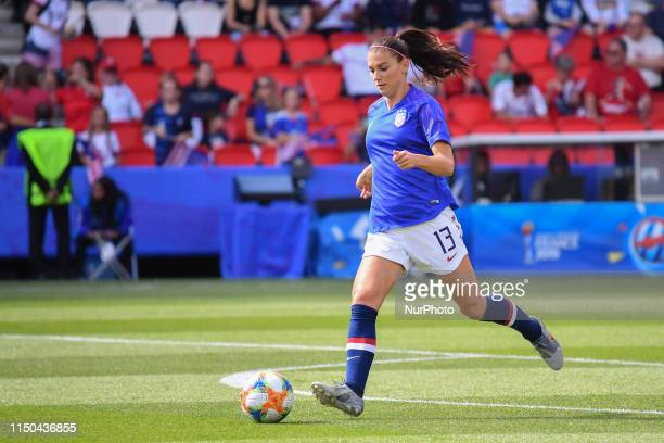 Alex MORGAN in practice at the 2019 World cup in France in Parc des Princes in Paris