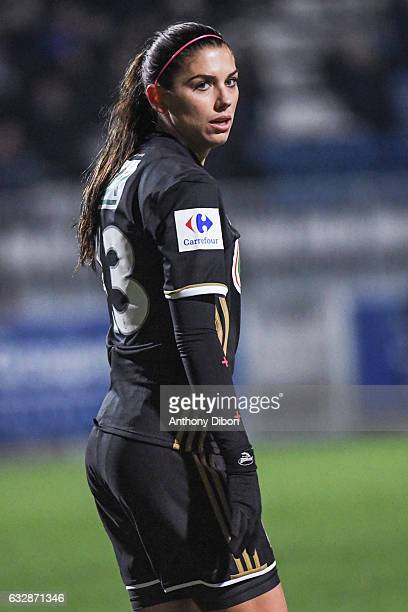 Alex Morgan of Lyon during the Women's French Cup match between Lyon and Grenoble on January 27 2017 in Lyon France