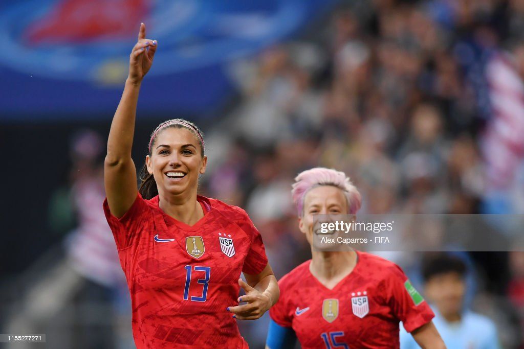 USA v Thailand: Group F - 2019 FIFA Women's World Cup France : News Photo
