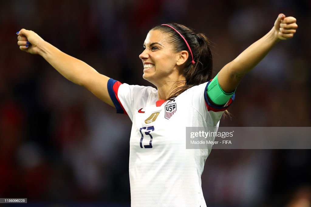 France v USA: Quarter Final  - 2019 FIFA Women's World Cup France : News Photo