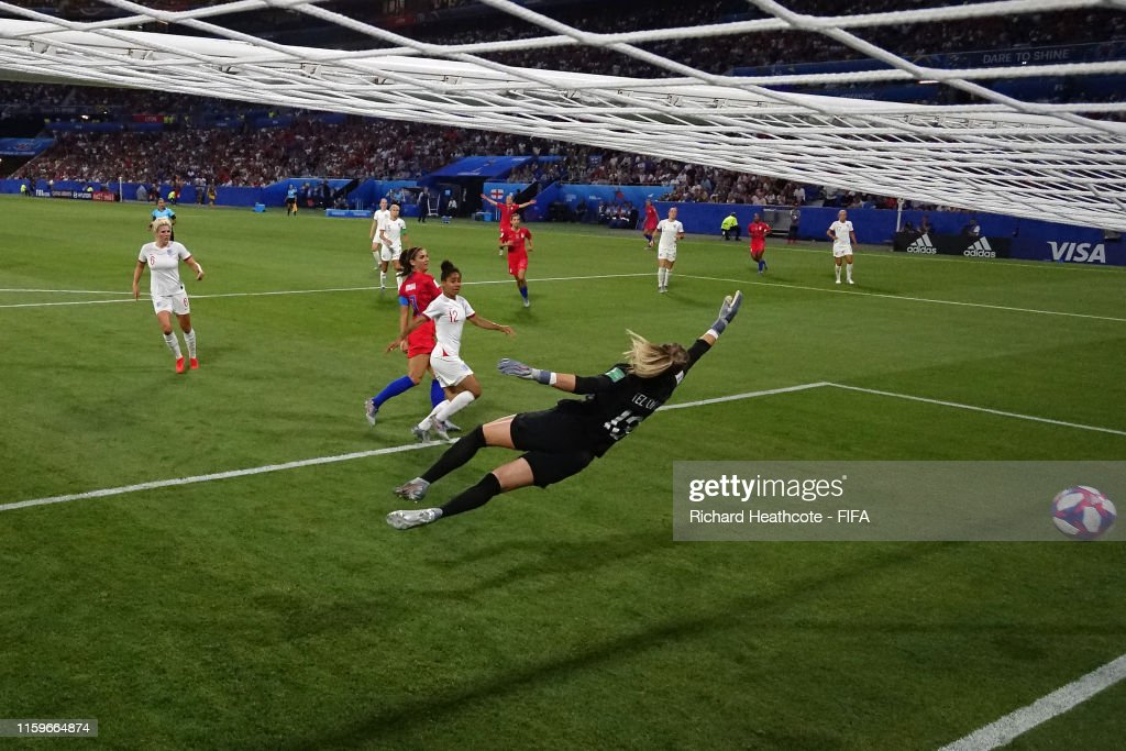 England v USA: Semi Final - 2019 FIFA Women's World Cup France : Foto jornalística