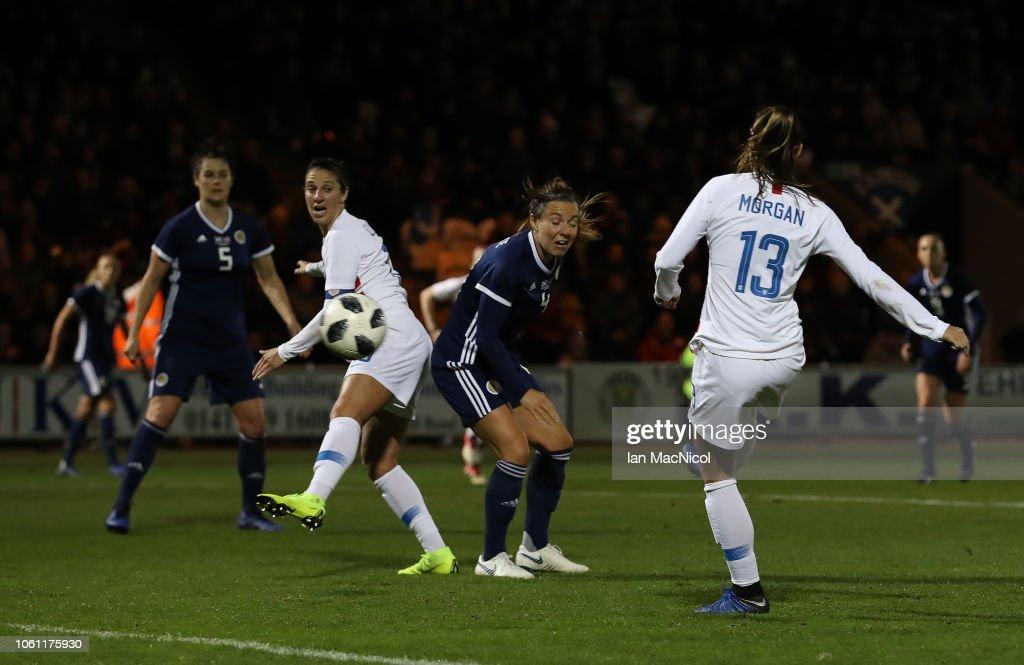 Scotland v USA - Women's International Friendly : News Photo