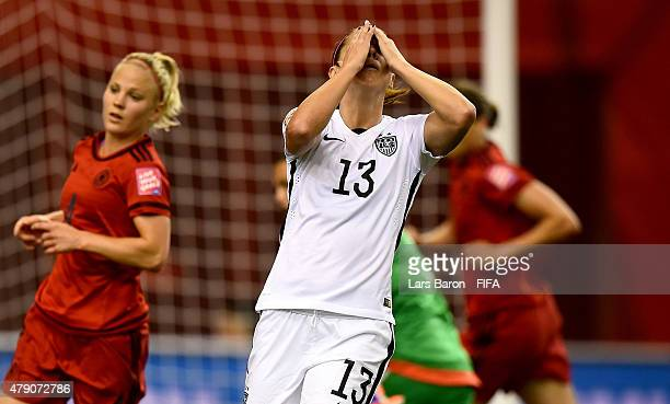 Alex Morgan Of USA Reacts During The FIFA Womens World Cup 2015 Semi Final Match Between