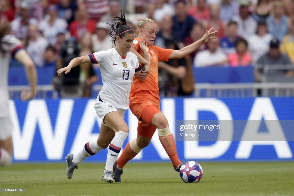 """FIFA Women's World Cup France 2019""""Women:  United States of America v The Netherlands"""" : News Photo"""