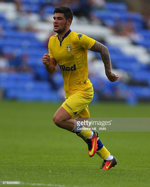 Alex Mowatt of Leeds United during the PreSeason Friendly match between Peterborough United and Leeds United at London Road Stadium on July 23 2016...