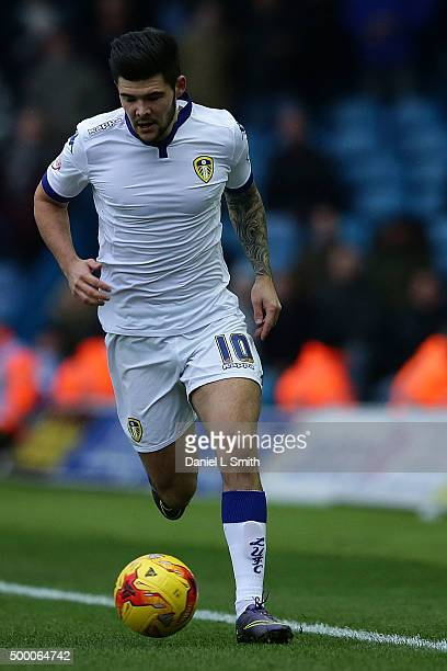 Alex Mowatt of Leeds United FC during the Sky Bet Championship League match between Leeds United FC and Hull City FC on December 5 2015 in Leeds...