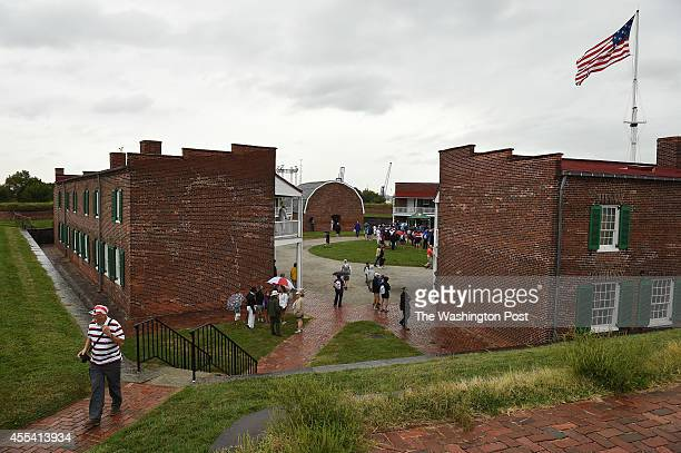Alex Mullin walks around Fort McHenry during the StarSpangled Spectacular which celebrates the 200th Anniversary of the penning of The StarSpangled...