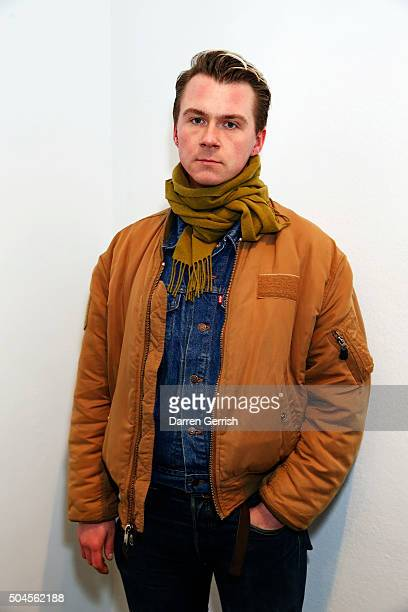Alex Mullins attends a Willy Vanderperre screening and QA during The London Collections Men AW16 at ICA on January 11 2016 in London England