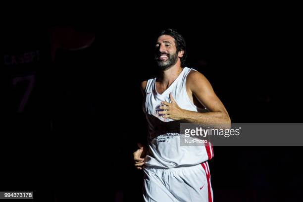 Alex Mumbru from Spain during the charity and friendly match Pau Gasol vs Marc Gasol with European and American NBA players to help young basketball...