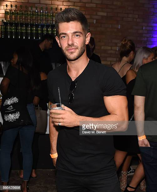 Alex Mytton attends Notion Magazine Presents 'Summer Vibes' Summer Party at Mangle @ The Laundry on August 25 2016 in London England