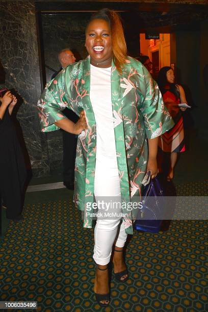 Alex Newell attends the 'Head Over Heels' Broadway Opening Night Party at Guastavino's on July 26 2018 in New York City