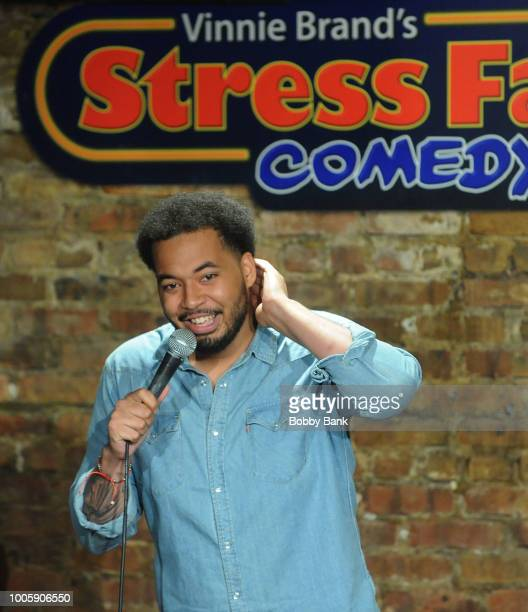 Alex Nicholas performs at The Stress Factory Comedy Club on July 26 2018 in New Brunswick New Jersey