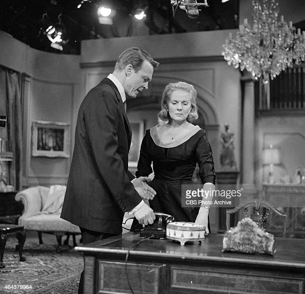 Alex Nicol as Michael Patterson and Ann Todd as Jane Palmer in the CLIMAX episode 'Shadow of a Memory' Image dated December 22 1957
