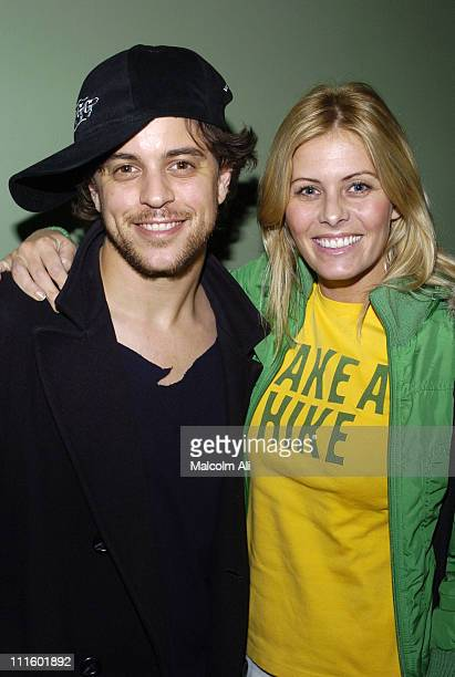 """Alex Niver and Nicole Eggert during """"Saints and Soldiers"""" Los Angeles Premiere at Laemmle Fairfax 3 in Los Angeles, California, United States."""