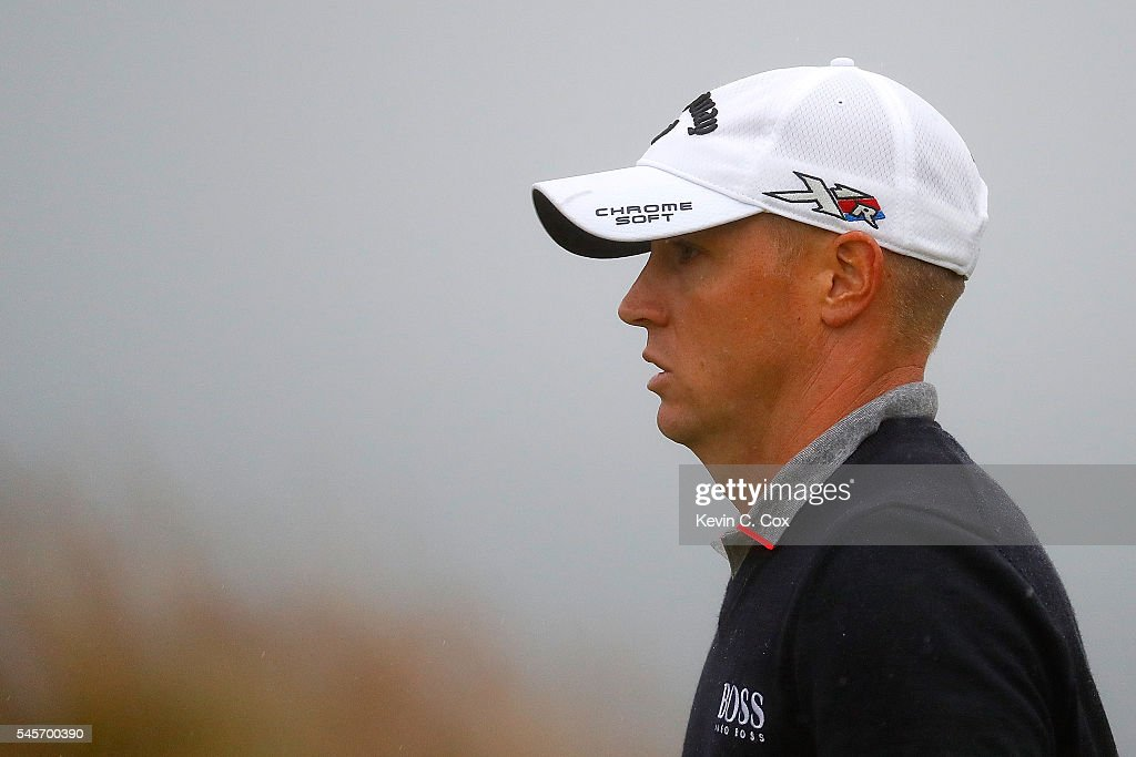 Alex Noren of Sweden walks on the 18th green during the third round of the AAM Scottish Open at Castle Stuart Golf Links on July 9, 2016 in Inverness, Scotland.