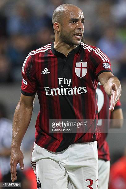 Alex of AC Milan in action during the TIM Preseason Tournament between US Sassuolo FC Juventus and AC Milan at Mapei Stadium Citta' del Tricolore on...