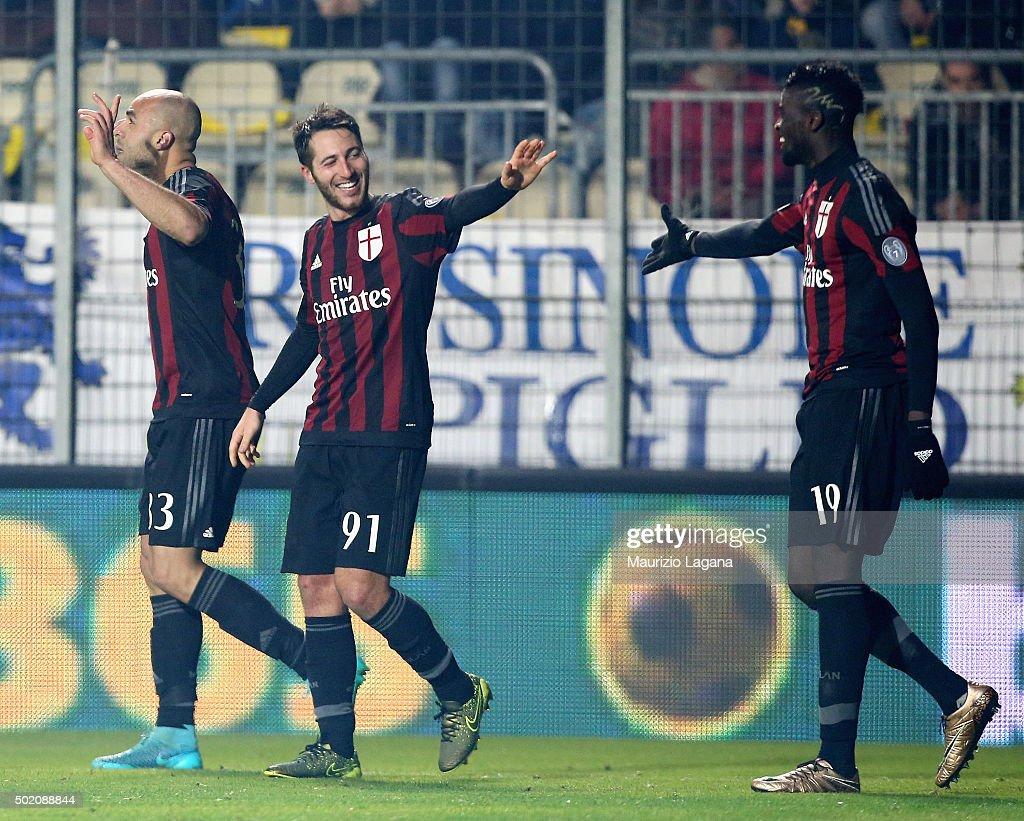 Frosinone Calcio v AC Milan - Serie A