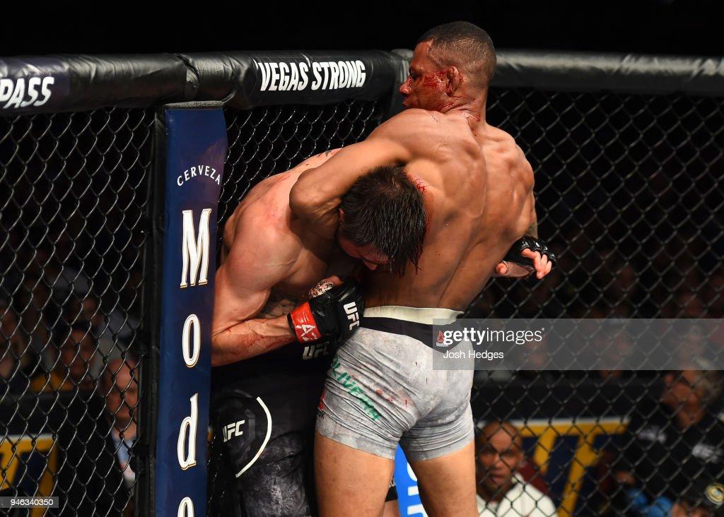 UFC Fight Night: Condit v Oliveira : News Photo