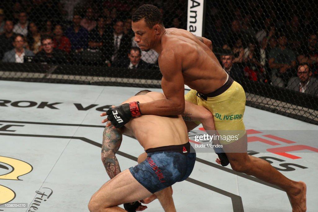 UFC Fight Night: Oliveira v Pedersoli : News Photo