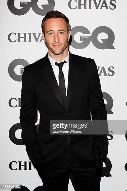 Alex O'Loughlin arrives at the GQ Australia Men of the Year Awards at the Sydney Opera House on November 22 2011 in Sydney Australia