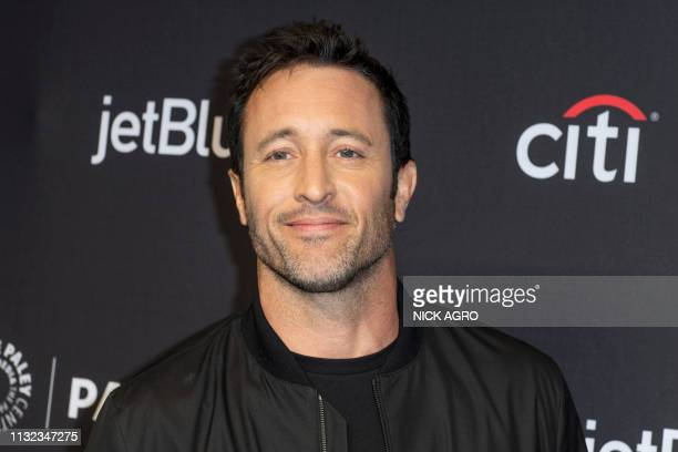 Alex O'Loughlin arrives for the Paley Center for Media's 2019 PaleyFest 'Hawaii Five0' 'MacGyver' And 'Magnum PI' March 23 2019 at the Dolby Theater...