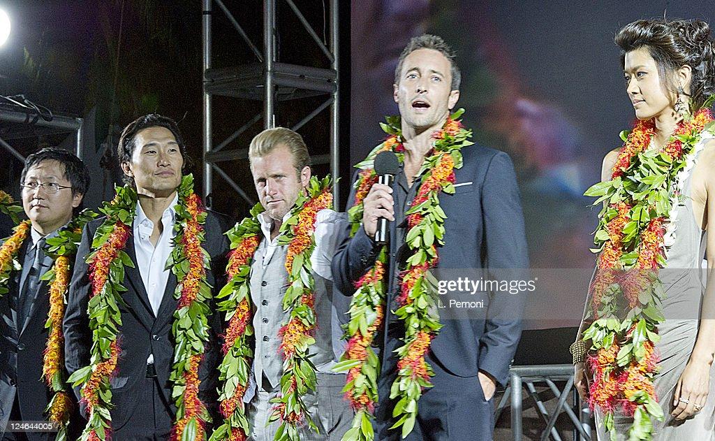"Screening Of ""Hawaii Five-0"" Season 2 : ニュース写真"