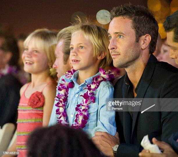 Alex O'Loughlin attends the screening of Hawaii Five0 Season 2 on September 10 2011 in Waikiki Hawaii