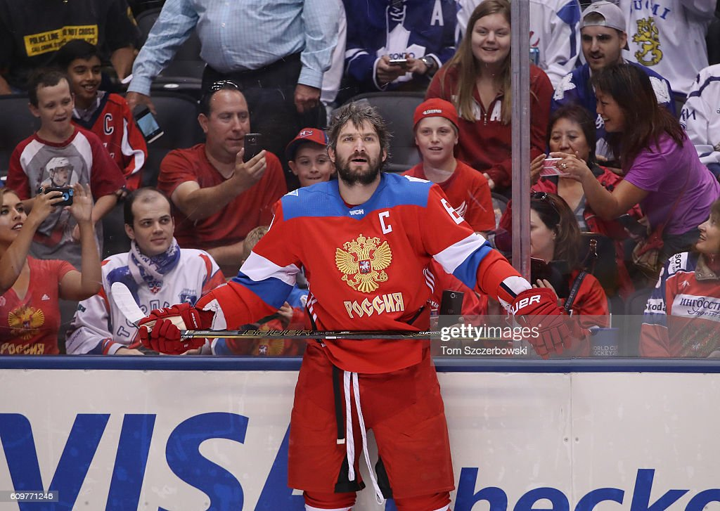 World Cup Of Hockey 2016 - Finland v Russia : News Photo