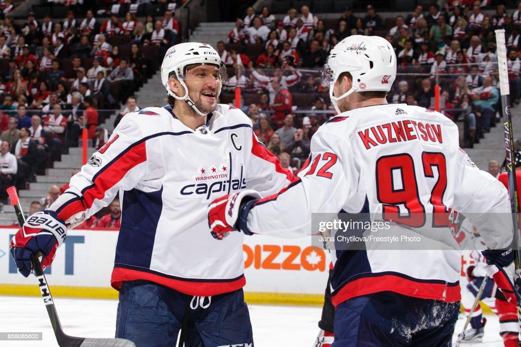 Washington Capitals v Ottawa Senators : News Photo