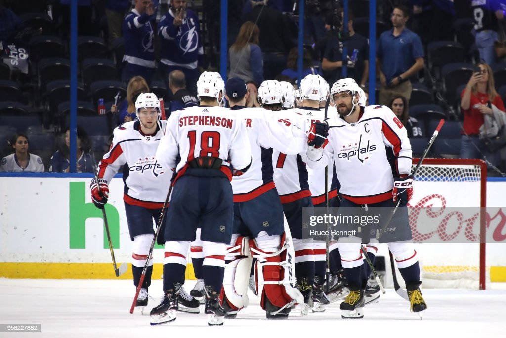 Washington Capitals v Tampa Bay Lightning - Game Two : News Photo