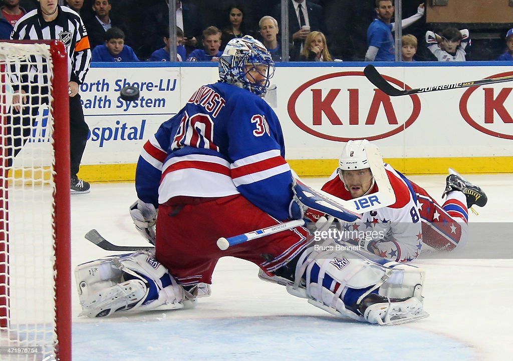 Washington Capitals v New York Rangers - Game Two : News Photo