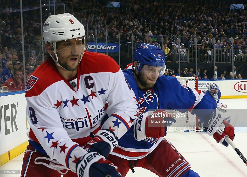 Washington Capitals v New York Rangers - Game Two : News Photo