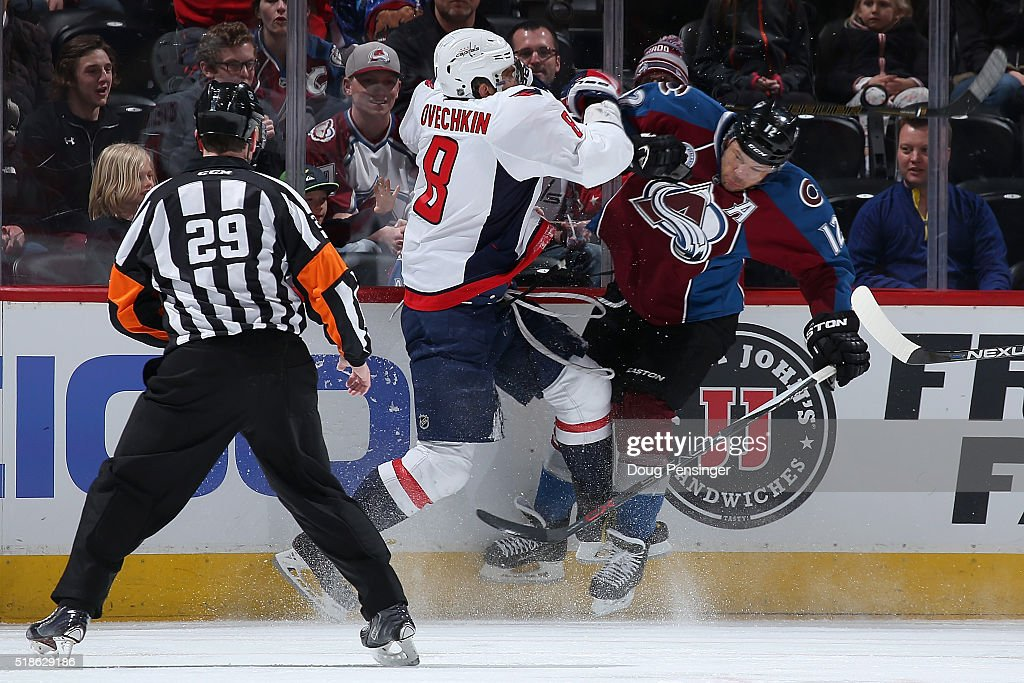 Washington Capitals v Colorado Avalanche : News Photo