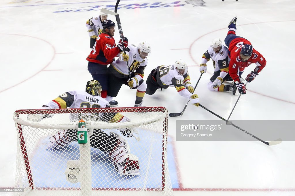 2018 NHL Stanley Cup Final - Game Three : News Photo