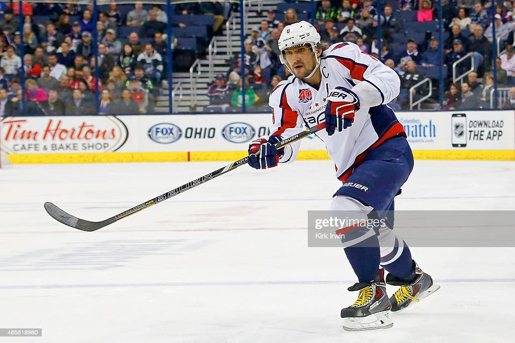 Washington Capitals v Columbus Blue Jackets : Fotografía de noticias