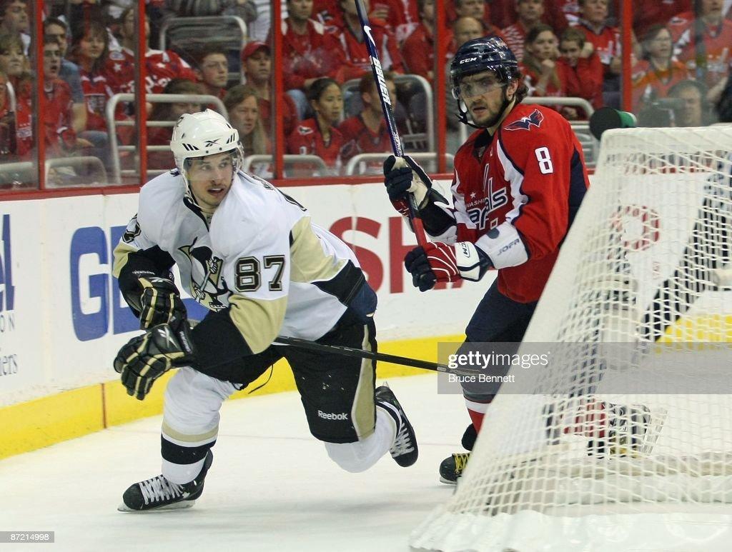 Pittsburgh Penguins v Washington Capitals - Game Seven : News Photo
