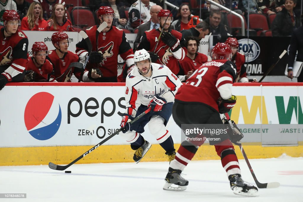 Washington Capitals v Arizona Coyotes : News Photo