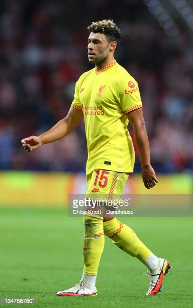 Alex Oxlade Chamberlain of Liverpool during the UEFA Champions League group B match between Atletico Madrid and Liverpool FC at Wanda Metropolitano...