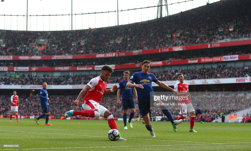 Arsenal v Manchester United - Premier League : Fotografía de noticias