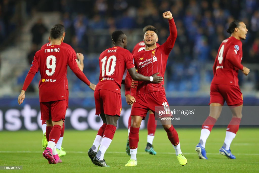 KRC Genk v Liverpool FC: Group E - UEFA Champions League : News Photo