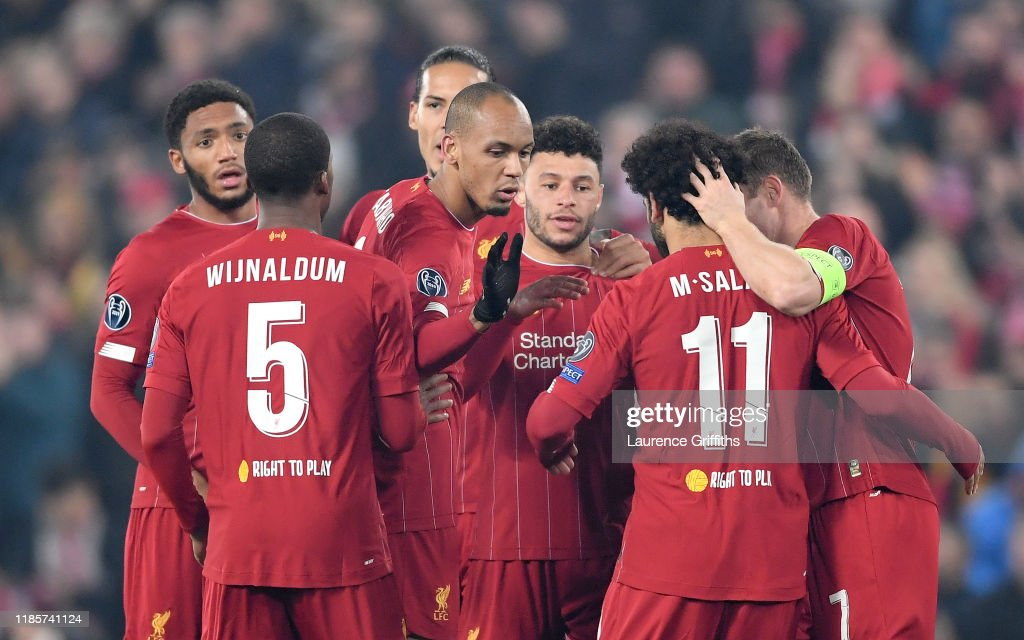 Liverpool FC v KRC Genk: Group E - UEFA Champions League : News Photo
