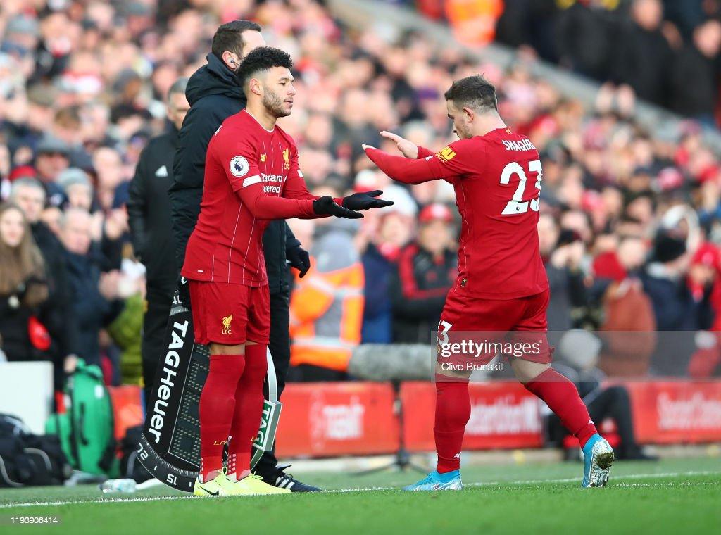 Liverpool FC v Watford FC - Premier League : Nyhetsfoto