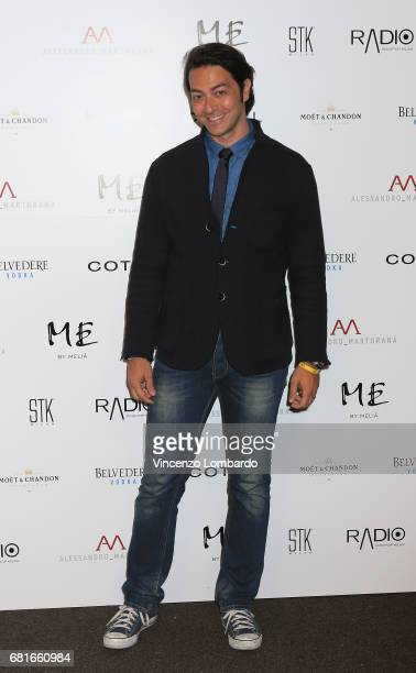 Alex Pacifico attends Alessandro Martorana's 'Spring Party' on May 10 2017 in Milan Italy