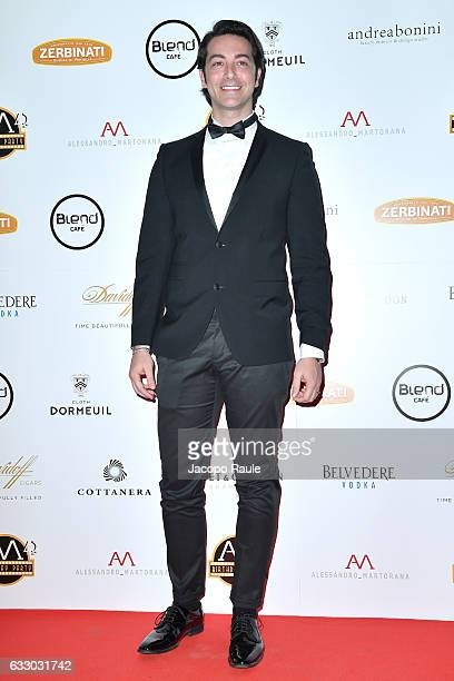Alex Pacifico attends photocall for Alessandro Martorana party on January 29 2017 in Milan Italy