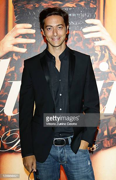 Alex Pacifico attends the Blugirl Spring/Summer 2012 fashion show as part Milan Womenswear Fashion Week on September 22 2011 in Milan Italy