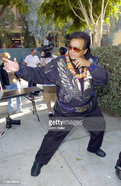 """Alex Pages during CBS Announces an Open Casting Call to Find The Next """"King Of Rock 'N' Roll"""" to Star as Elvis Presley in the Upcoming Miniseries..."""