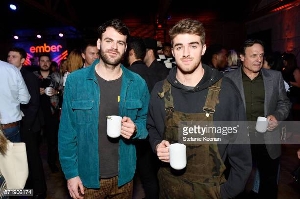 Alex Pall and Andrew Taggart at Ember celebrates VIP launch event with Iggy Azalea on November 8 2017 in Los Angeles California